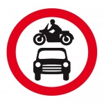 No motor vehicles