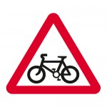 Warning cyclists